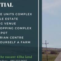 43ha Development Property in Lynnwood/Graham Road Pretoria