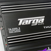 Targa Thump Series 55rms x 2 amplifier