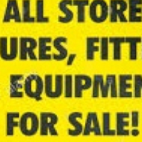 Hardware stock including shelving for sale URGENT
