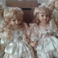 4 Porcelain Dolls