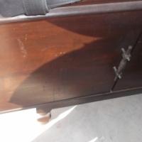 diningroomsuite 6seater dark wood