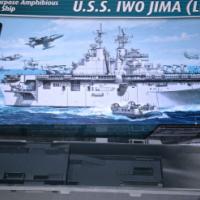 USS IWO JIMA Model Kit