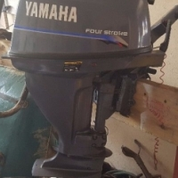 Yamaha 15hp four stroke for sale