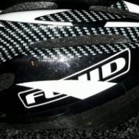 Fluid large helmet