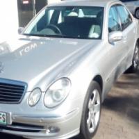 Mercedes Benz E500 (2002Model)