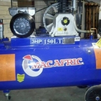 150 Liter Belt Drive Compressor 2.2kW 3HP includes watertrap and pipe