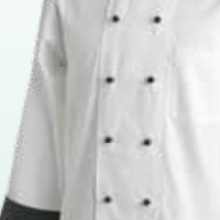 CONTRAST CHEF JACKETS – LONG SLEEVE