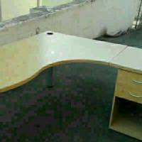 L shape office desk for sale