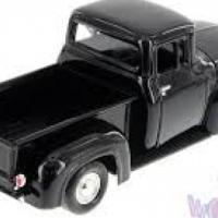 Black Die Cast Pickup Truck 1:28 Scale