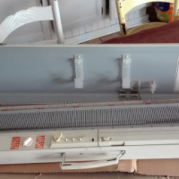 Toyota KS901 knitting machine and Toyota KR501 rib knitter