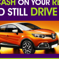 Selling your Renault? Raise cash on your Renault and still drive it!