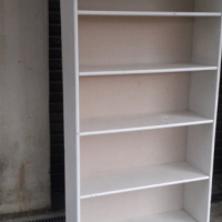 Pine Bookcase White