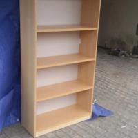 Oak Finish Bookcase