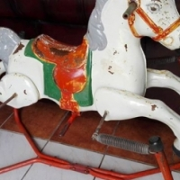Very old rocking horse for sale
