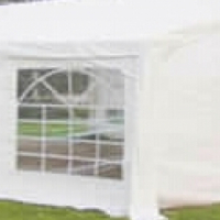 Double fold up tent for functions parties etc