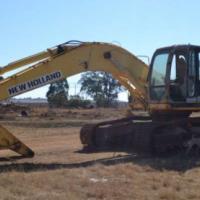 Excavators New Holland