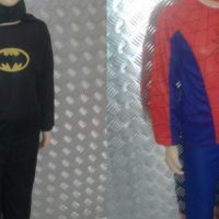 Kids Superhero Character Costumes