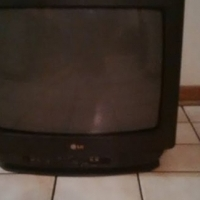 LG 51cm TV with universal remote