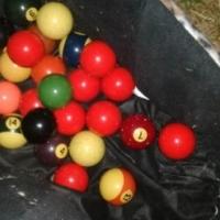 Pool/snooker balls
