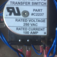 Single Phase 100A transfer Switches - New