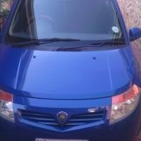 PROTON SAVVY :  2006 MODEL BLUE.