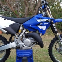 2015 Yamaha YZ125 for sale (with or without extras)