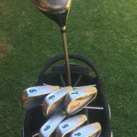 Excellent Cobra golf set and bag