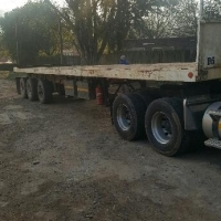2 x 2012 Paramount Tri Axle Trailers