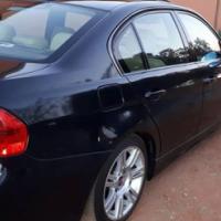 Black BMW 320i Motor Sport