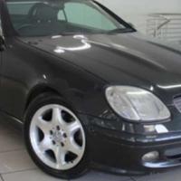 Mercedes Benz SLK 200 Kompressor Roadster AT