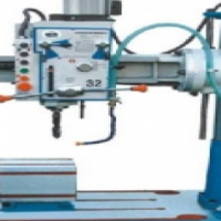 32mm Radial Arm Drilling Machine Bench Type