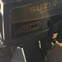 40 hp Suzuki boat motor