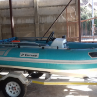 Buccaneer Rubber duck with trailer for sale, no motor