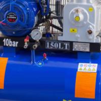 150 Liter Petrol Belt Drive Compressor 10 HP