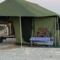 LEO DESERT WOLF 4x4 LEISURE CAMPING TRAILER