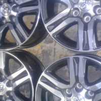 """17""""Original magrims for Toyota Fortuners and Hillux bakkies aset of four on sale."""