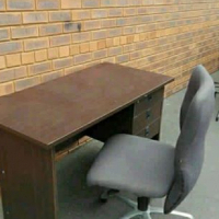 Office desk and chair combo for sale