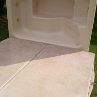 Jacuzzi 6 seater with pump/filter/DB and cover