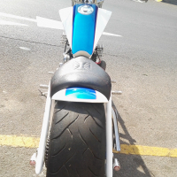 Hard tail hand built xv 1000 to swop for nice bakkie