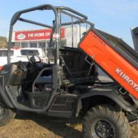 Kubota RTV 900 4wd all terrain vehicle.