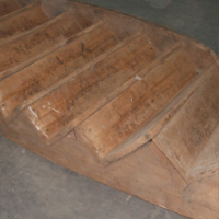Yellow wood staircase for sale