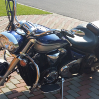 2009 Yamaha XVS 1300 Star Tourer (Canadian Import) 6993 miles