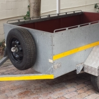 Trailer in immaculate condition