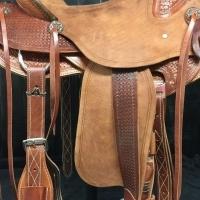 Beautiful Wade Roping Saddle