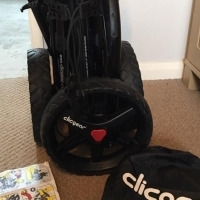 Clicgear 3.5 golf trolley... immaculate condition