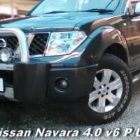 2006 Nissan Navara 4.0i V6 P/U D/C A/T