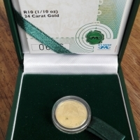 Golden coin for sale