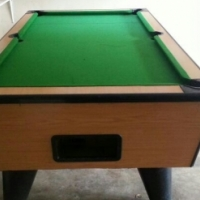 Second Hand Coin Operated Pool Tables