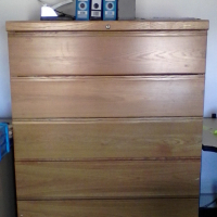 3 FILING CABINETS FOR SALE