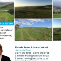 Plot for sale in Durbanville .